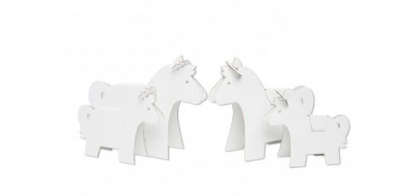 Papp-Spielzeug - Ponys