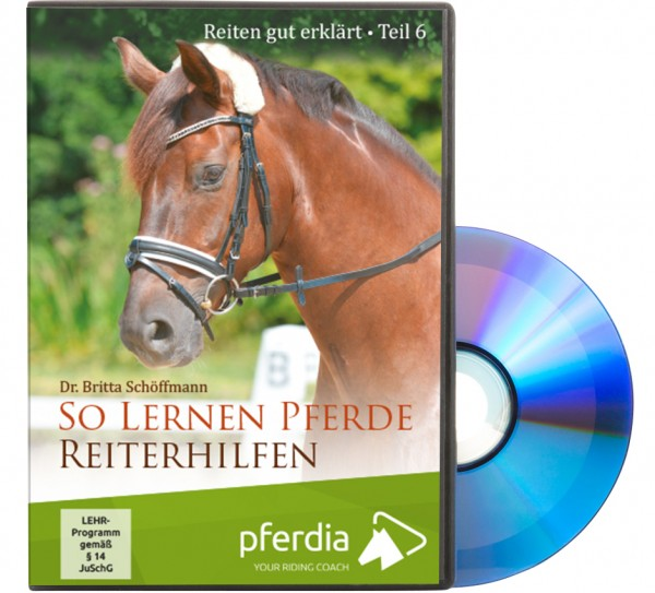 DVD Reiten gut erklärt Teil 6 - So lernen Pferde Reiterhilfen