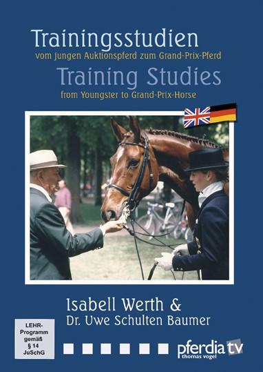 DVD Trainingsstudien von und mit Isabell Werth und Dr. Uwe Schul
