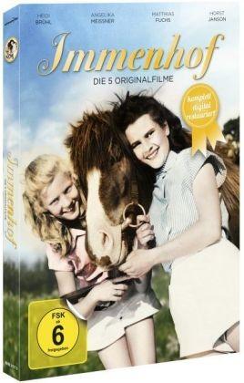 DVD Die Mädels vom Immenhof 5 Filme