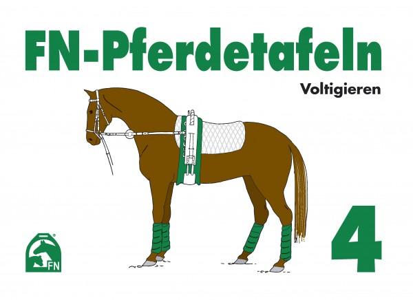 FN-Pferdetafeln Set 4 Voltigieren