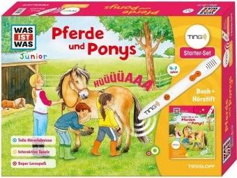 TING Starterset 'Pferde' Buch und Hörstift
