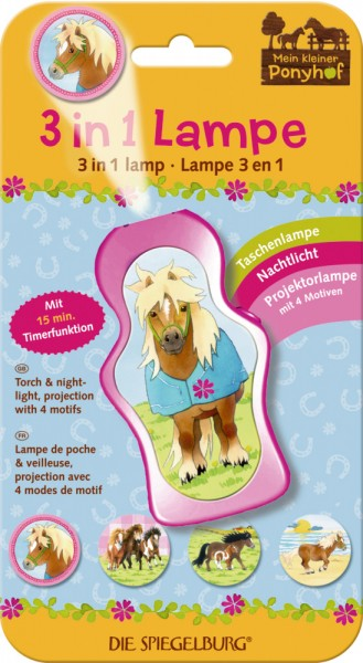 Ponyhof 3 in 1 Lampe
