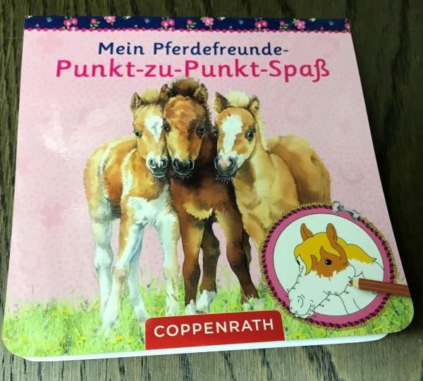 Pferdefreunde Punkt-zu-Punkt-Spaß