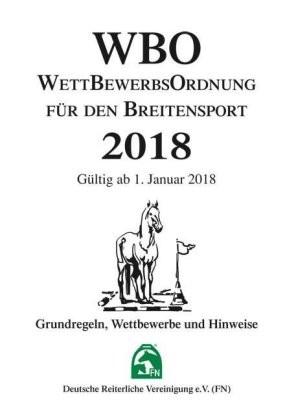 Wettbewerbsordnung (WBO) 2018 nur Inhalt