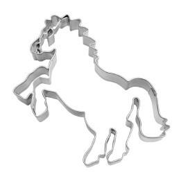 Motivausstecher Steingendes Pferd mit Prägelinien